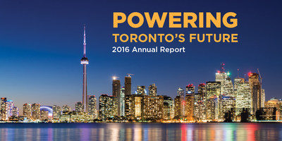 Toronto Hydro releases its 2016 annual report (CNW Group/Toronto Hydro Corporation)