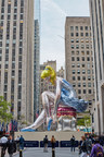 Kiehl's Since 1851 and Art Production Fund Present Seated Ballerina by Jeff Koons on view May 12 - June 2, 2017 at Rockefeller Center