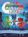 'PJ Masks Live! Time to Be a Hero,' a brand-new, fully-immersive musical production based on eOne's top-rated animated TV series, will take to the stage, touring across North America starting in September 2017. Exclusive pre-sales begin Tuesday, May 16, at 10am EDT, with the general public on-sale starting Friday, May 19, at 10am EDT.