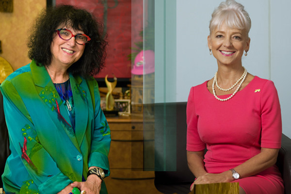 Loretta Rosenmayer (left) and Kelly Tomblin (right)