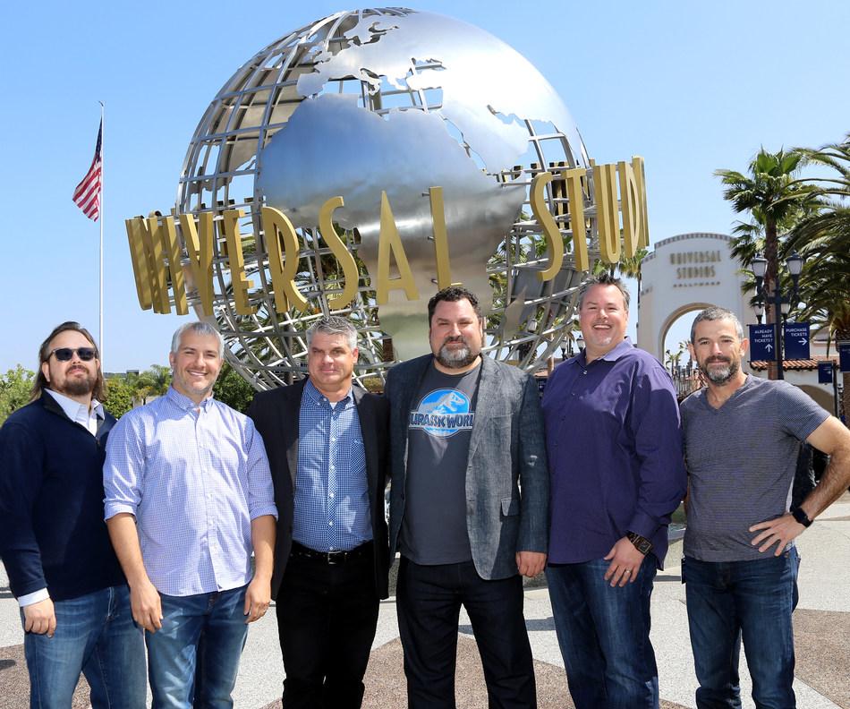 (left to right): Pete Wanat, Tim FitzRandolph, Bill Kispert, Chris Heatherly, Jim Molinets , Fabian Schonholz