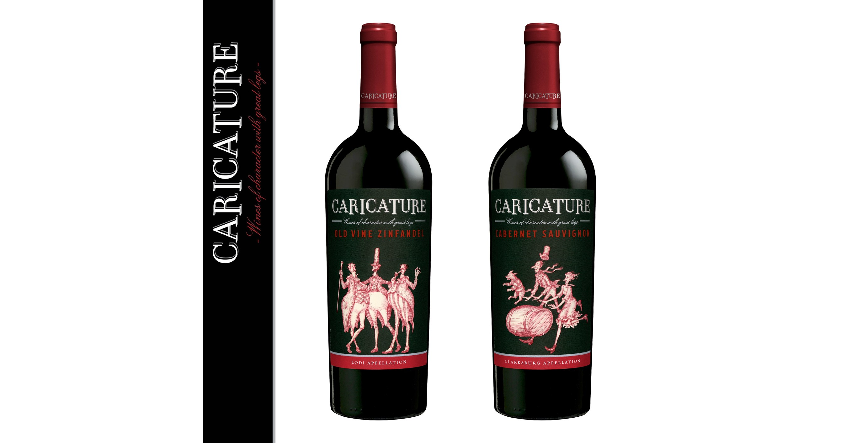 Twins Auto Sales >> LCF Wines Announces New Look for Caricature Wine Brand