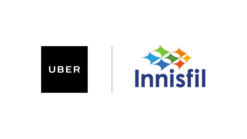 Logo: Uber Canada Inc., The Town of Innisfil (CNW Group/Uber Canada Inc.)
