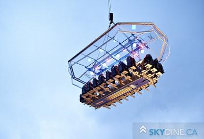 Dinner in the Sky - skydine.ca (CNW Group/Dinner in the Sky Canada)