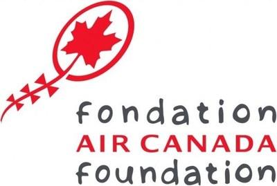 Logo : Fondation Air Canada (Groupe CNW/Hôpital Shriners pour enfants)