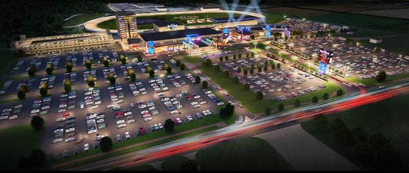 Hard Rock International and Rideau Carleton Raceway Announce Hard Rock Casino Ottawa (rendering).