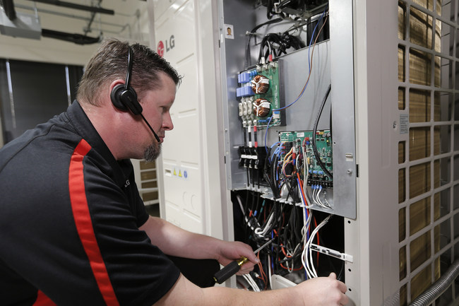 LG Electronics USA Air Conditioning Technologies has expanded its North Texas training facility to provide enhanced after-market support, including training and call support for contractors and customers alike.
