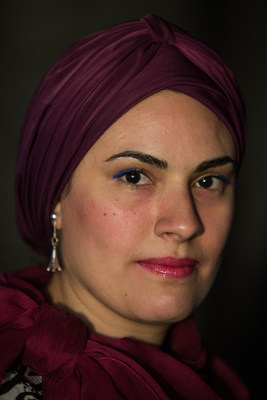 Eman Helal, Portenier Human Rights Bursary winner, 2016 (CNW Group/Canadian Journalism Forum on Violence and Trauma)