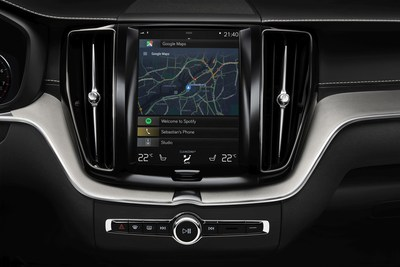 Volvo Cars partners with Google to build Android into next generation connected cars. (PRNewsfoto/Volvo Car Group)