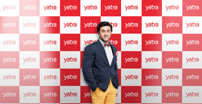 Yatra signs Ranbir Kapoor as its brand ambassador (PRNewsfoto/Yatra Online, Inc.)