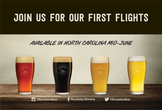 Deschutes Brewery Launches in North Carolina with Seven Distributor Partnerships