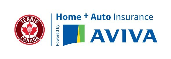 Tennis Canada Home and Auto Insurance powered by Aviva (CNW Group/Aviva Canada Inc.)