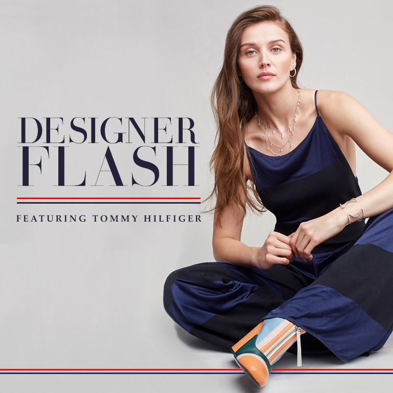 Designer Flash Featuring Tommy Hilfiger