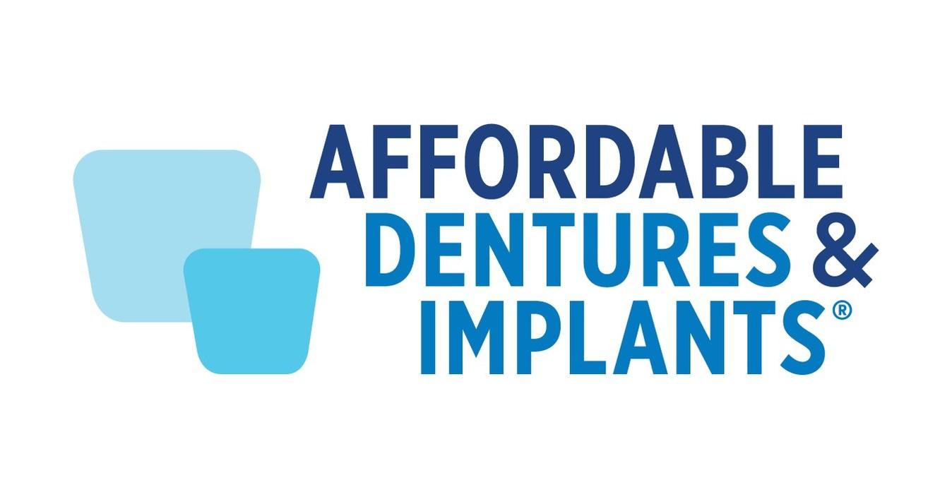 Affordable dentures implants opens harrisonburg va for Cheap logo