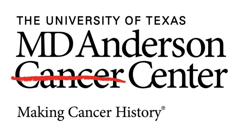The University of Texas MD Anderson Cancer Center logo (PRNewsfoto/Topgolf)
