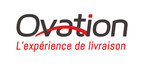 Logo : Ovation Logistique (Groupe CNW/Ovation Logistics Inc.)