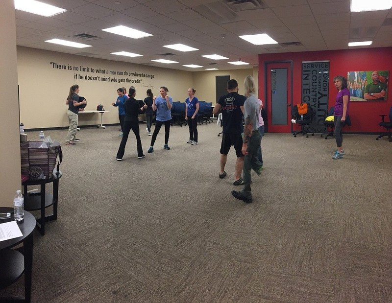 Wounded Warrior Project empowered family members to learn self-defense during a recent connection event.