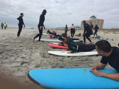 A recent Wounded Warrior Project camping and surfing event reconnected veterans with their families.