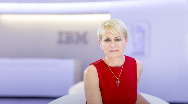 Harriet Green, IBM General Manager, Watson Internet of Things, Customer Engagement and Education, has been named one of Fast Company's 100 Most Creative People in Business. In the list, Harriet is recognized 'for alerting businesses to Watson's potential.' (Credit: IBM)