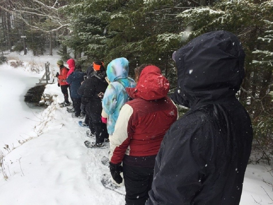 Wounded Warrior Project family members were empowered to share their experiences during a recent hike in White Mountain, N.H.