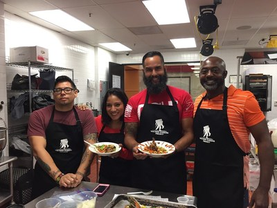 Wounded Warrior Project veterans and family members connected recently to share their experiences and recipes during a healthy cooking class.