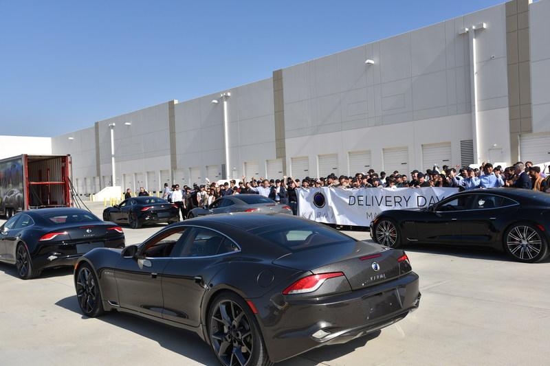 Karma Automotive Delivery Day