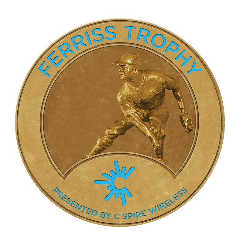 Two outfielders, two pitchers and an infielder are among the five finalists for the 2017 C Spire Ferriss Trophy, which honors the top college baseball payer in Mississippi.  The award will be presented at an awards luncheon on Monday, May 22 in Jackson, Mississippi.