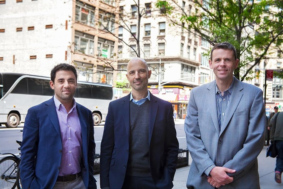 From left to right: Adam Mahfouda, Oded Hecht and Greg Harden
