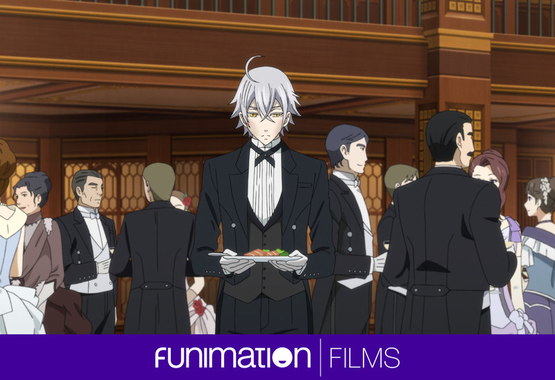 Still from Black Butler: Book of The Atlantic. Courtesy of Funimation Films.