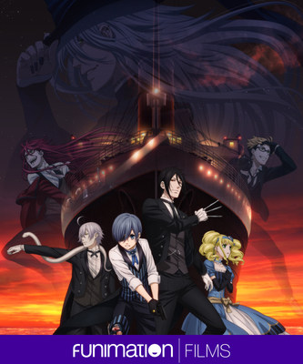 Black Butler: Book of The Atlantic key art. Courtesy of Funimation Films.