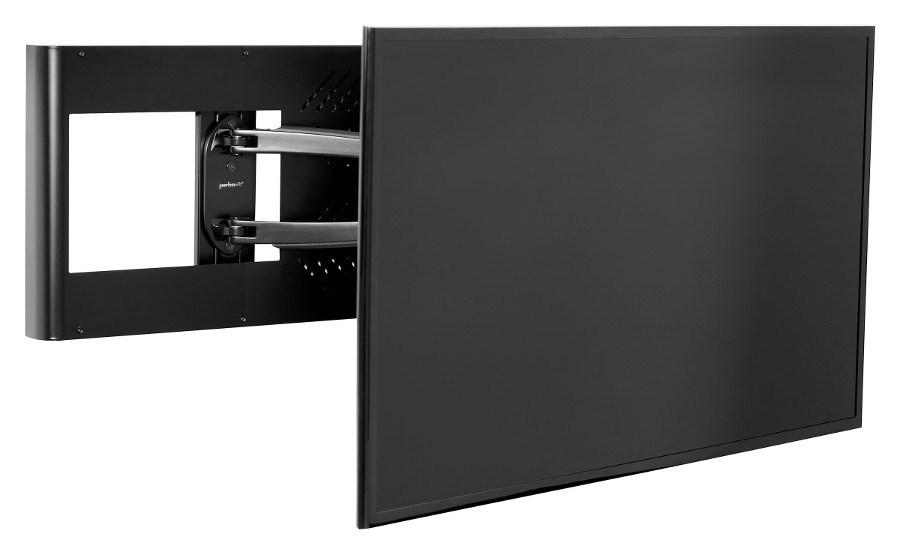 Peerless-AV's Hospitality Wall Arm Mount with Set Top Box Enclosure (HA746-STB)