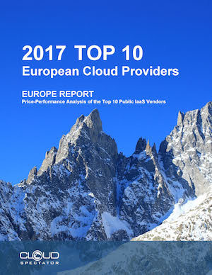 2017 Top Ten European Cloud Service Providers Report