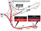 Échangeur Turcot - Autoroute 15 (Groupe CNW/Ministère des Transports, de la Mobilité durable et de l'Électrification des transports)