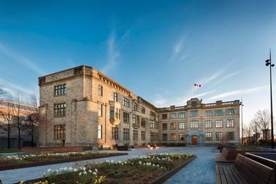L'inauguration historique du siège social du pluralisme à Ottawa positionne le Canada en tant que centre mondial de dialogue. Crédit: Marc Fowler (Groupe CNW/Centre mondial du pluralisme)