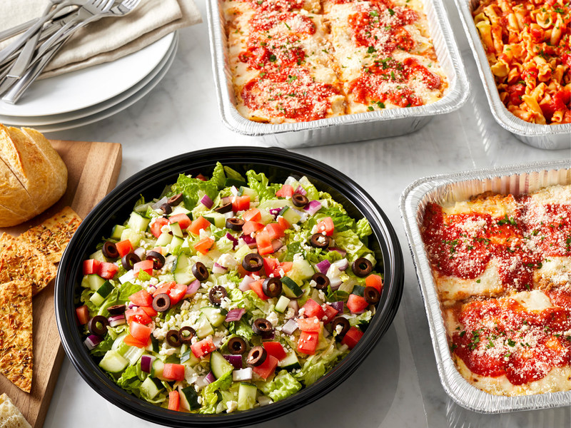 Delicious choices from the new catering to-go menu at BRIO Tuscan Grille