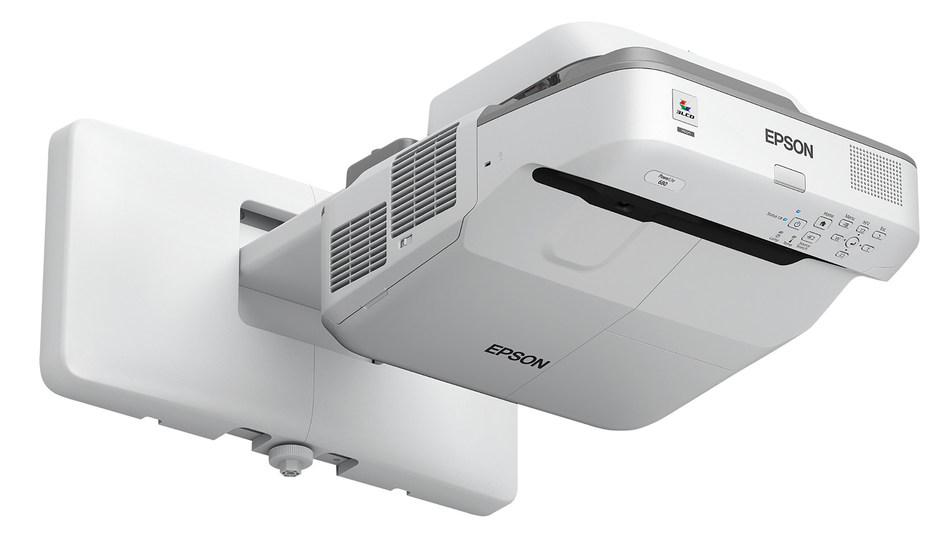 Designed specifically to work with SMART Board® M680 and 880 interactive whiteboards, the Epson® PowerLite 680 for SMART offers seamless integration with SMART Extended Control Panel and features including wireless content sharing for easy-to-use and collaborative technology in K-12 classrooms.
