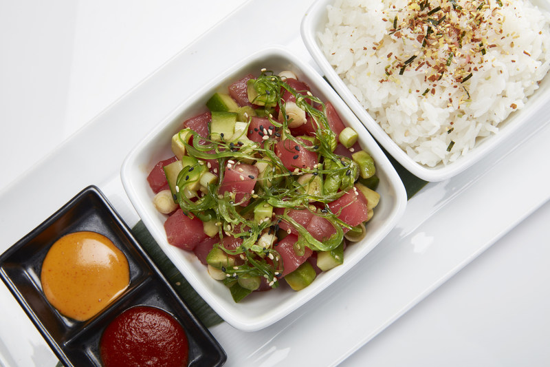Ahi poke is just one of many food and drink items featured on the special Nicky's Week menu at RA Sushi locations nationwide May 22 - 28.  One hundred percent of menu proceeds will be donated to St. Jude Children's Research Hospital. RA Sushi hopes to raise $200,000 this year.