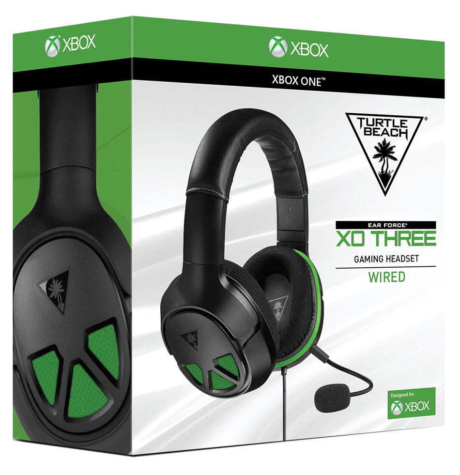The Turtle Beach XO THREE is a wired, surround sound ready gaming headset for Xbox One and is planned to launch this July at participating retailers for a MSRP of $69.95. Hear Everything. Defeat Everyone.