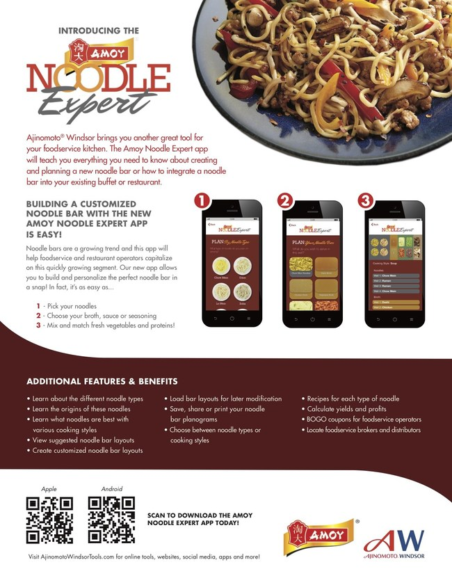 Amoy Modernizes Food Industry With Noodle App For Restaurant Operators