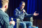 Ed Boon (right), Creative Director at NetherRealm Studios and one of the world's most heralded game developers, spoke to a crowd of gaming media and enthusiasts in Toronto last week. He was in town to celebrate the launch of his latest title, Injustice 2, which releases today, May 16, at retail. (CNW Group/Warner Bros. Interactive Entertainment)