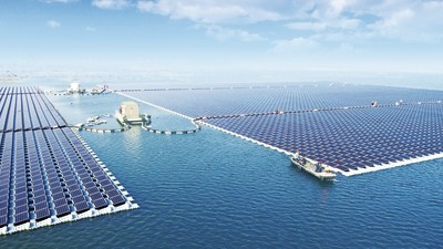 40MW Floating PV Power Plant