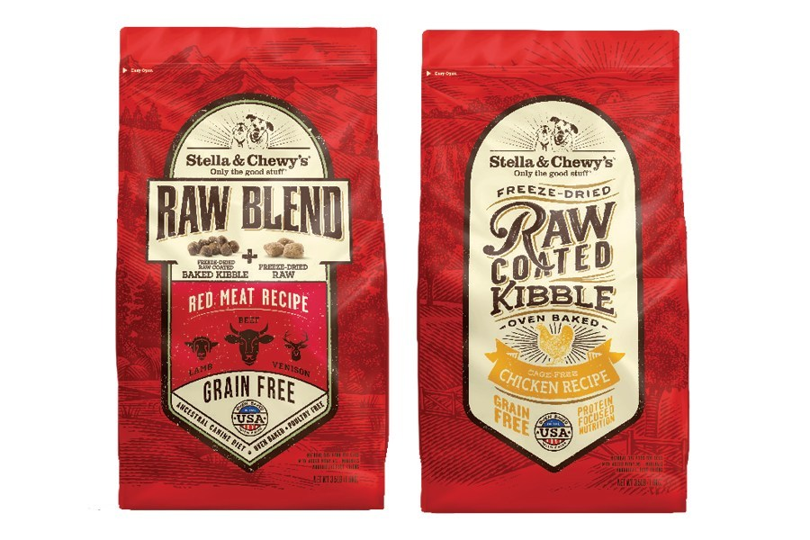 Stella & Chewy's, a leader in the rapidly growing freeze-dried and frozen raw segments of the pet food industry, is introducing a family of Raw Blend and Raw Coated Kibble that will be available exclusively in neighborhood pet stores.
