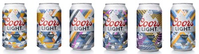 Coors Light introduces world's first beer cans with sun activated ink technology (CNW Group/Molson Coors Canada)