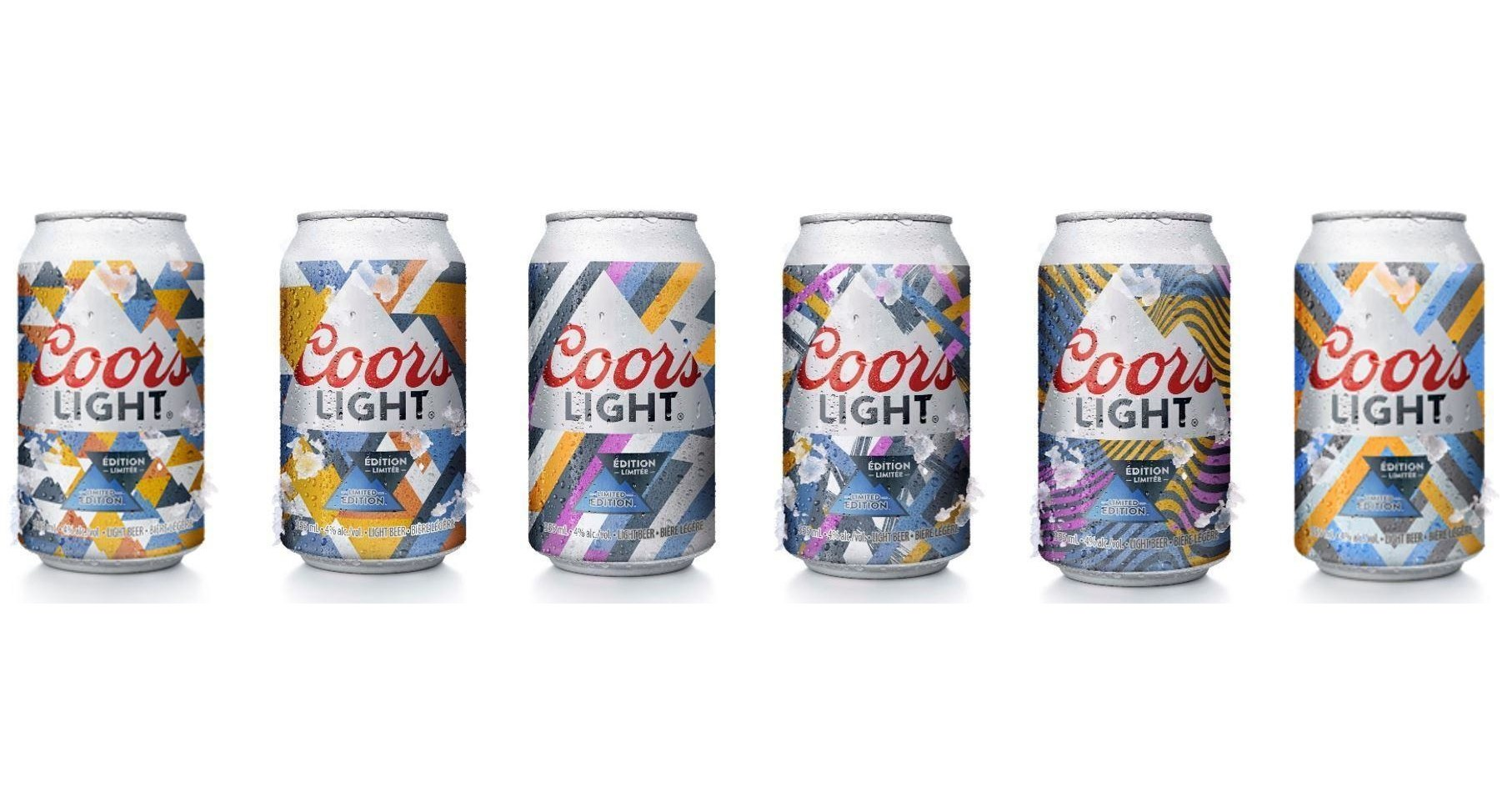 Cnw Coors Light Introduces World S First Beer Cans With
