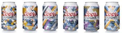Tirage limité et exclusif au marché canadien décliné en six designs activés par les rayons UV (Groupe CNW/Molson Coors Canada)