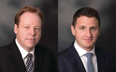Kevin Webber on the left; Daniel Brodlieb on the right (CNW Group/Raymond James Ltd.)