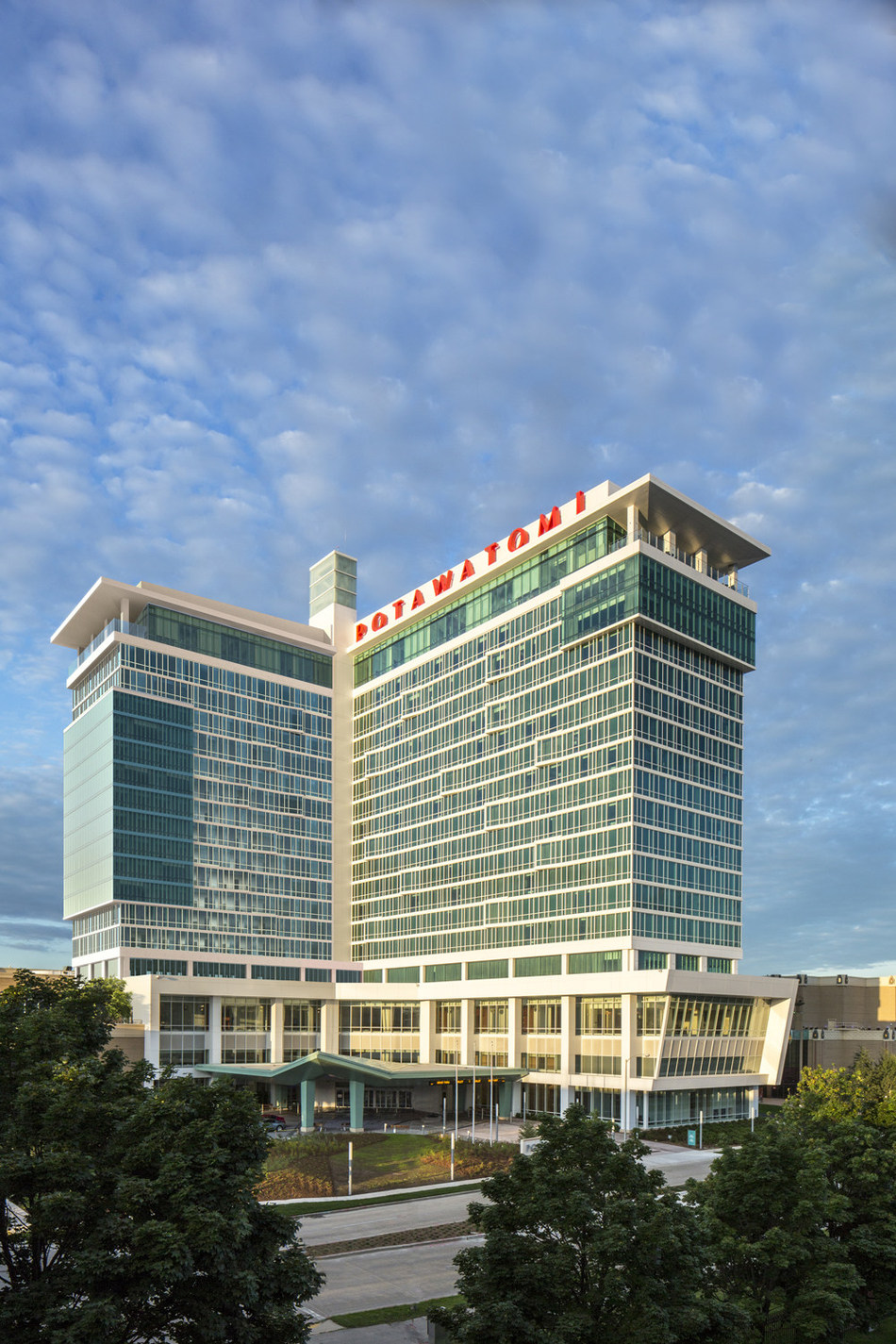 Potawatomi Hotel & Casino, located in Milwaukee, announced today its intentions to add a second tower to its hotel complex.