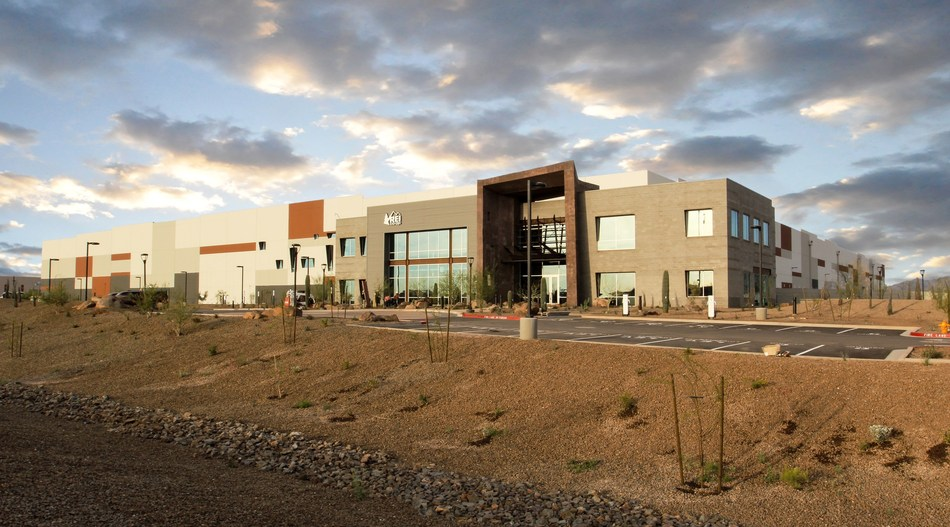 REI Goodyear DC, located at PV 303, a master planned business park in Goodyear, Arizona, and developed by Merit Partners Inc. and Sunbelt Holdings.