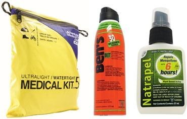 To ensure families get the most of their summer adventures during Canada 150, Tender Corp offers great product such as the Adventure Medical Kits Ultralight/Watertight .5, Ben's® 30 tick & insect repellent and Natrapel® 6hr to protect you from the elements. (CNW Group/Tender Corp)