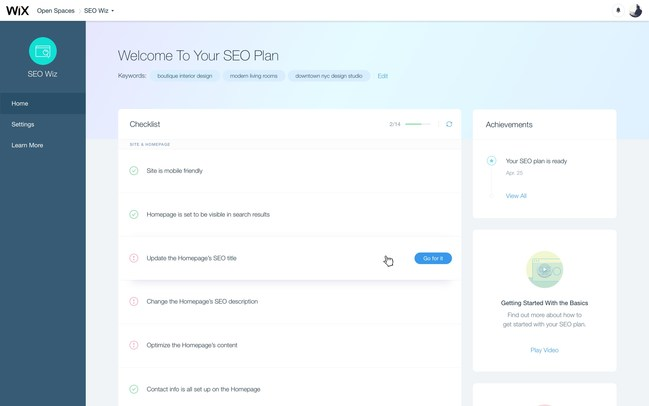 Wix Announces Launch of SEO Wiz Tool and Google Search Console Integration
